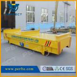 Material Transfer Cart_  Rail Powered Transfer Carts