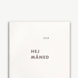 2018 B5 Monthly Planner