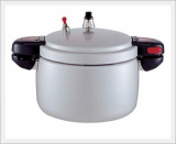 Silver Pearl Aanodized Pressure Cooker