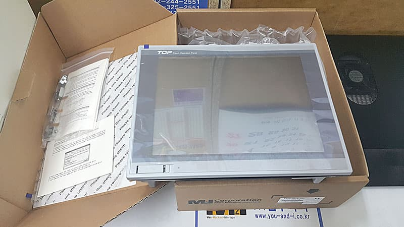 XTOP10TV_ED  HMI  TOUCH PANEL  M2I  TOP