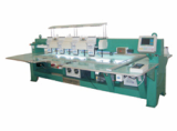 Four head laser embroidery cutting  machine for  clothing, fabric, multi-layer veil embroidery
