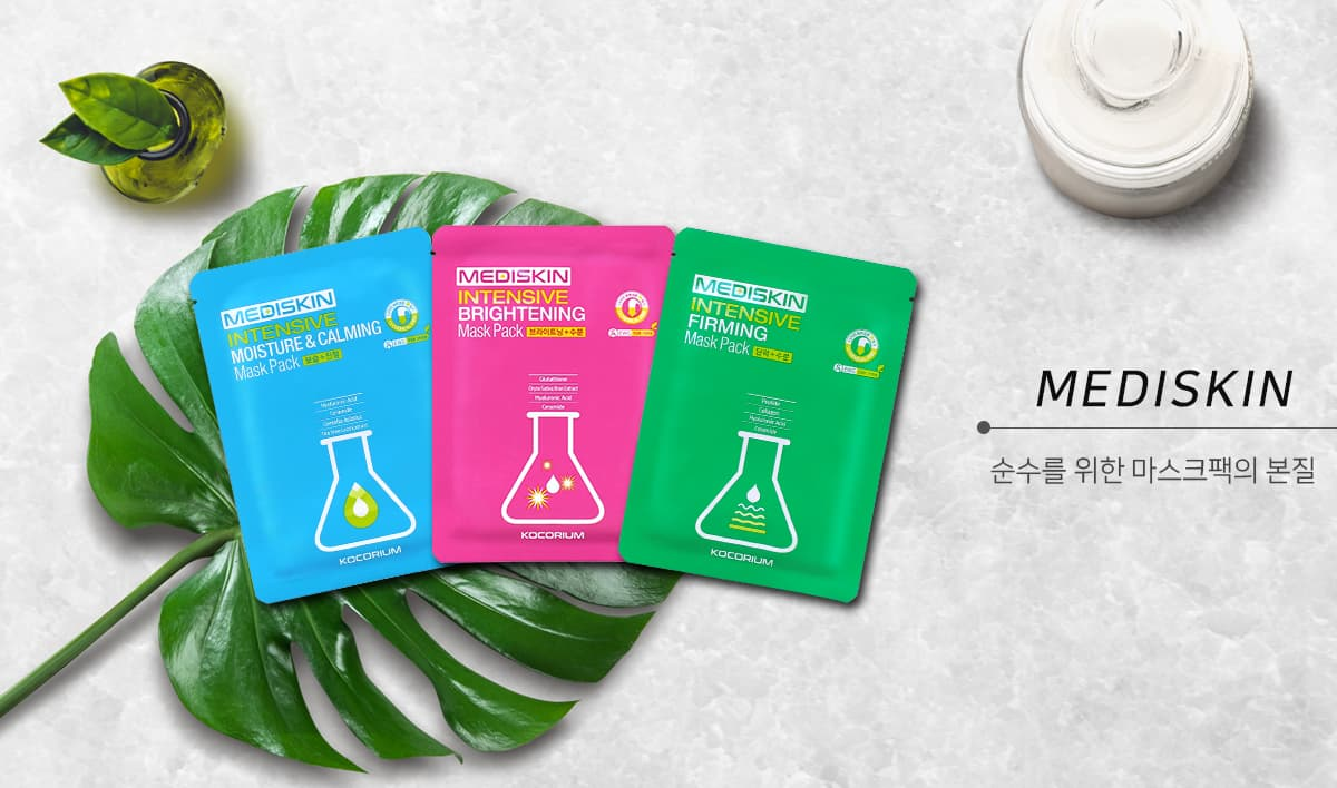korean 13chemical free moisture calming facial sheet mask