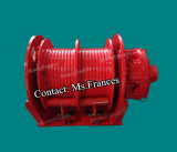 Double drum hydraulic winches