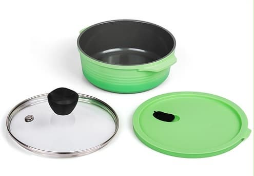 RANGE POT FOR MICROWAVE COOKING