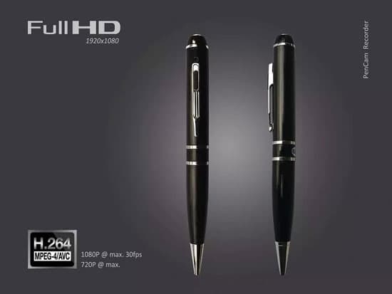 H-264 1080P HD  Spy Pen Hidden Camera DVR