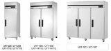Commercial Top Mount Refrigerator and Freezer