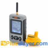 Wireless Fish Finder with 2.8 Inch Display and Sonar Sensor