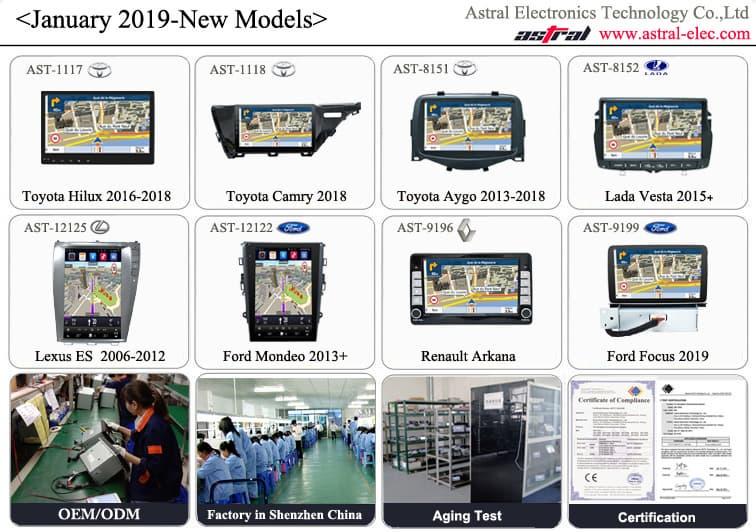 China Best Car Head Unit Manufacturer Toyota Hilux 2016-2018