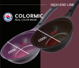 The COLORMIC _ Color change Frypan_ Wok