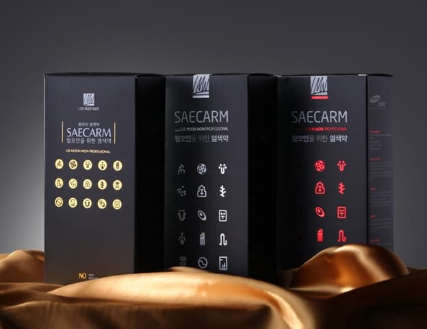 SAECARM sensitive hair color