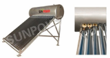Integrated high pressurized type solar water heater