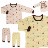 _school_ keeping warm long sleeves pajama set