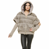 Reversible Mink and Down jacket