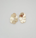 Fashion jewelry_ Fashion earrings_ Brass earrings