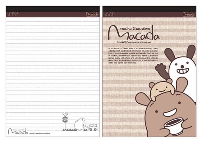 MACADA Notepad-Stripe