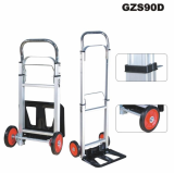 Aluminum Folding Hand Truck rubber wheels