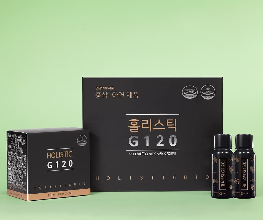 Holistic G120 Ginseng Berry health food