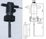 Teflon Plastic Paddle Flow Switch (Anti Corrosion in sea water and Chlorine liquid)