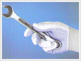 PVC Dotted Nylon Gloves