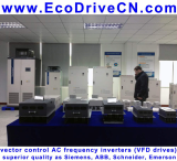 AC variable speed drive (VSD): 0 - 3200 Hz