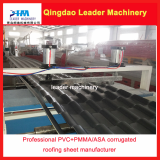 PVC_ASA_PMMA corrugated roofing sheet production line