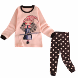 _fairy_ 20_s flice long sleeves pajama set