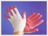 Latex Bouble Coated Cotton Gloves