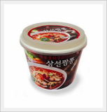 Jjam-bbong Noodle, Bowl - Hot Seafood Noodle