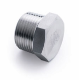 stainless ASTM A182 F316ti hex head plug