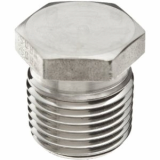 stainless ASTM A182 F310H hex head plug