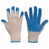 sell latex coated cotton work gloves