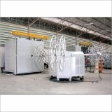 Bi-Axial Roto Moulding Machine