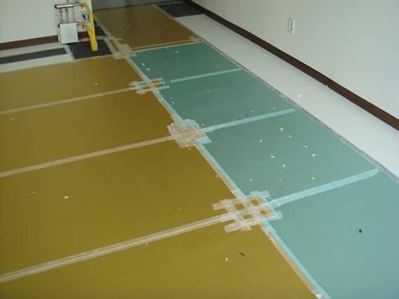 hydraulic floor heating system