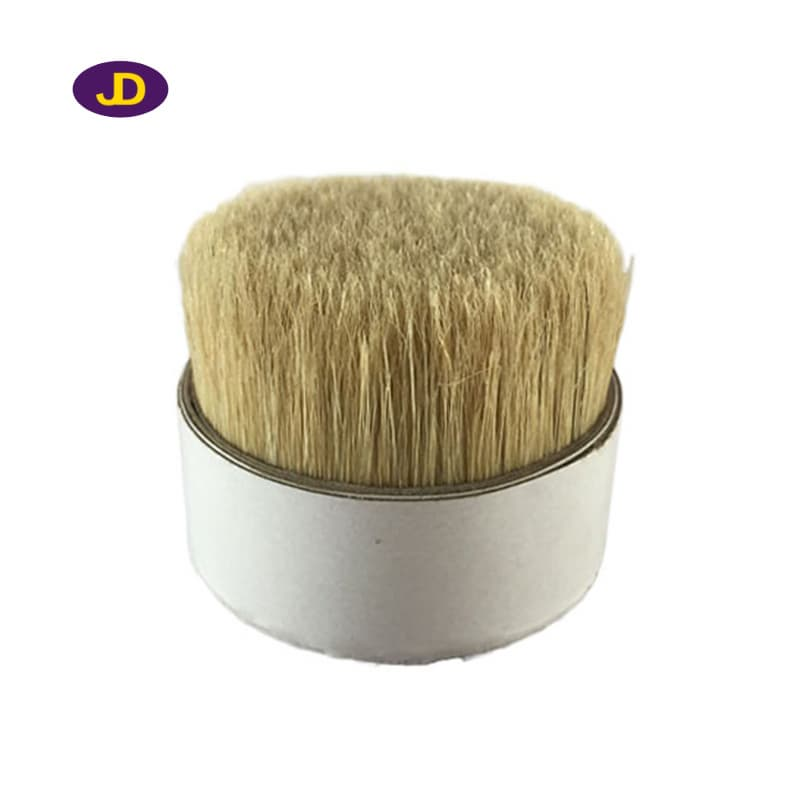 Natural white pig bristle for paint brush