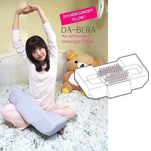 DABERA Acupressure Massage Pillow
