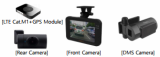 AI Dash cam with DSM _Driver Status Monitoring_ system