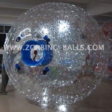 Transparent Zorb Ball, Aqua Zorb