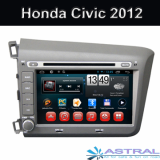 China OEM Navigationssystem Honda Car Multimedia Civic 2012