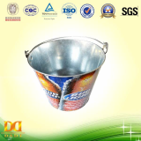 7_5L Metal Bucket for packing beer