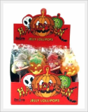 Halloween Jelly Lollipop 23g