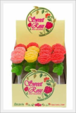 Rose Jelly Lollipop 40g
