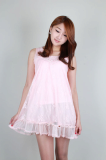 Lady Lace Mini Dress[JD KOREA CORP.]