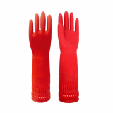Double band rubber gloves