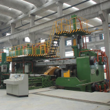 aluminum extruding line and plant aluminum press