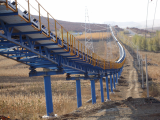 LBHI large inclination belt conveyor for coal mining