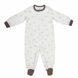 Organic Cotton Small Lamb Footed Sleeper