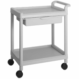 Utility Plastic Cart(Wagon, Trolley) 201C