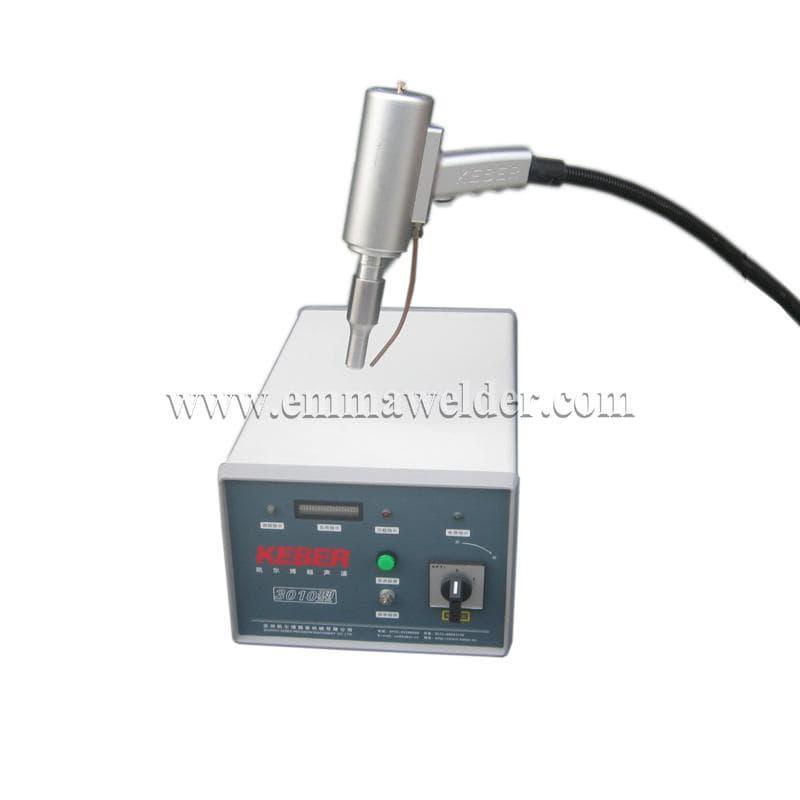 Portable spot ultrasonic welding machine from keber precision ...