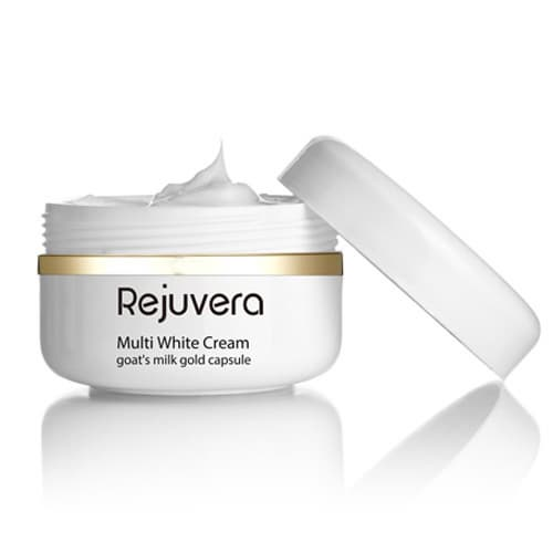 Multi White _Whitening_ Brightening_ Cream with Goats milk gold capsule