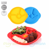 SILICONE KIDS PLATE